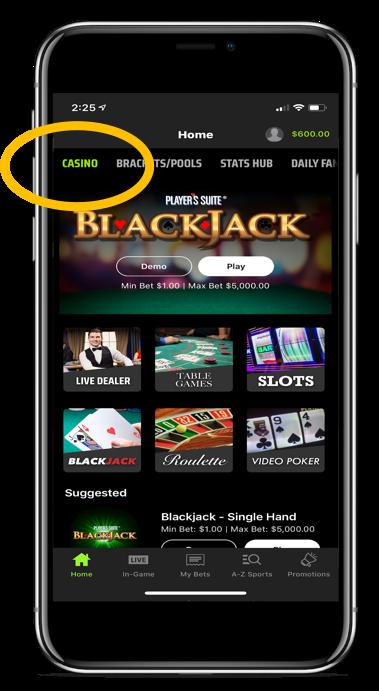 Casino Phone App
