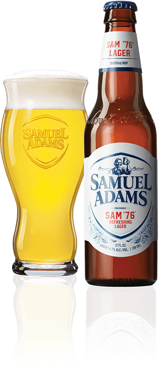 Samuel Adams '76 beer