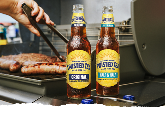 Made With Real Brewed Tea - Twisted Tea - Hard Iced Tea