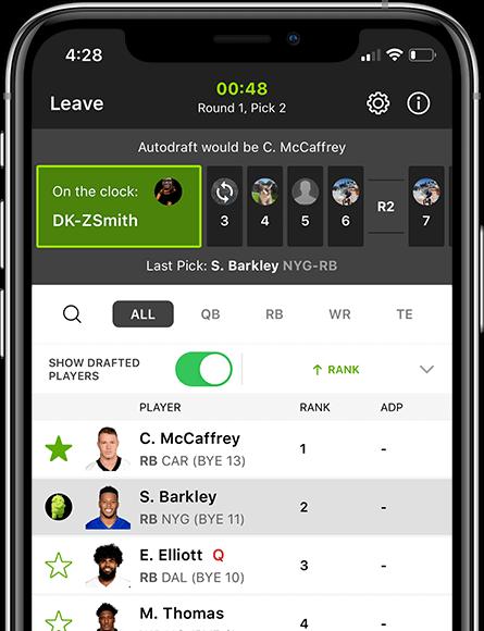 DraftKings App