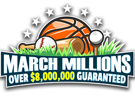 March Millions - Over $8 million given out this month!